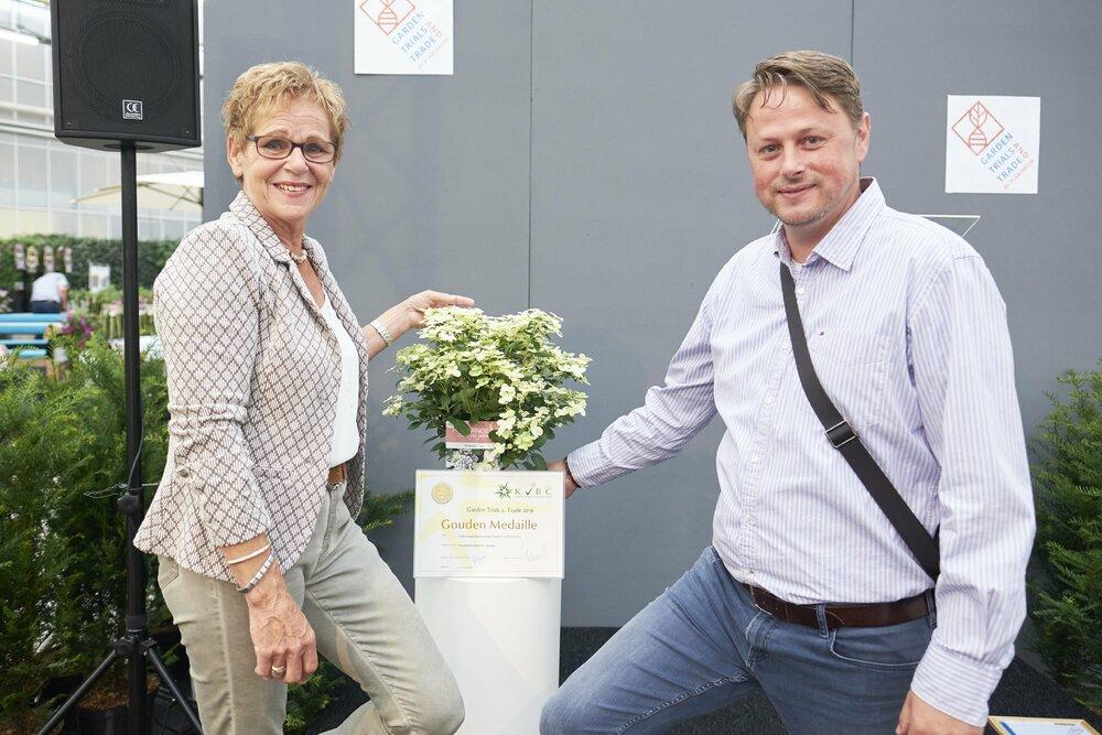 De titel Beste Nieuwigheid 2018, ingezonden voor de keuring tijdens Garden Trials and Trade 2018
